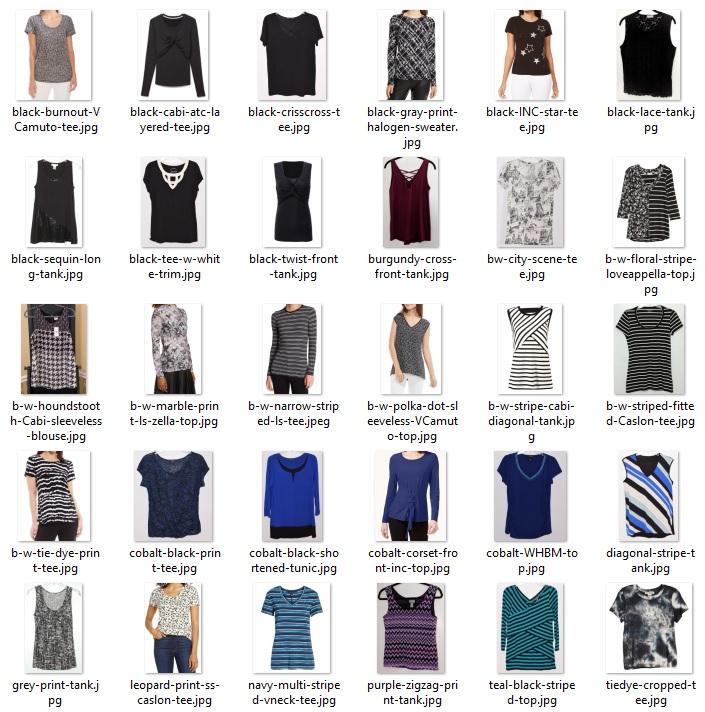 wardrobe do's - tops