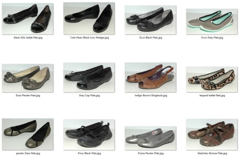 wardrobe don'ts - flat shoes