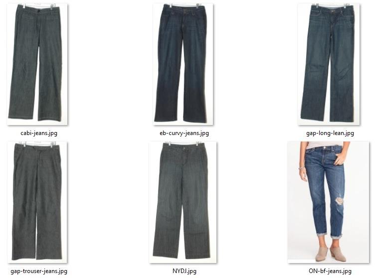 wardrobe don'ts - jeans