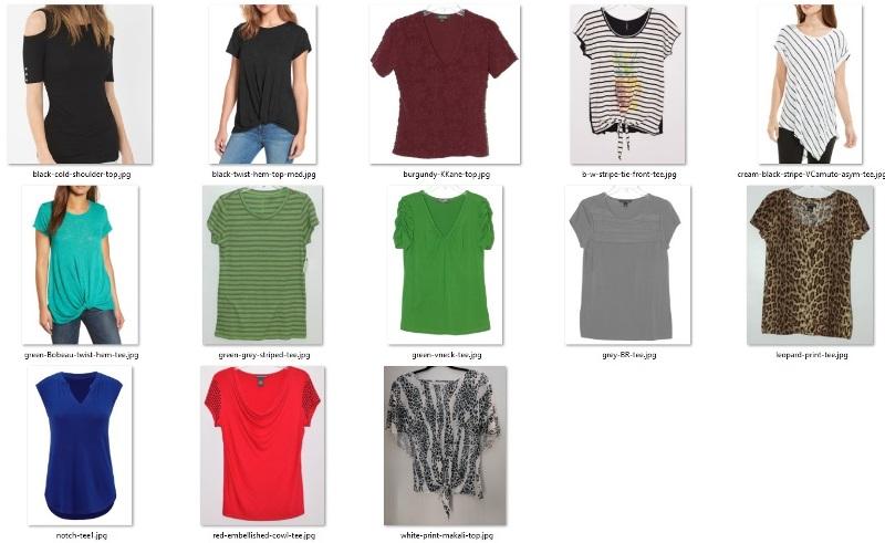 wardrobe don'ts - short-sleeved tops